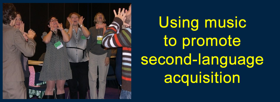 Use Music to Promote Second Language Acquisition